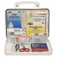 Pac-Kit Weatherproof Plastic 25 Person Industrial First Aid Kit