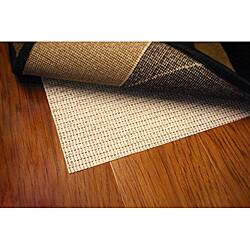Sure Hold White PVC-coated Knit Polyester Rug Pad (3'4 x 5')|https://ak1.ostkcdn.com/images/products/6396294/Sure-Hold-White-PVC-coated-Knit-Polyester-Rug-Pad-34-x-5-P14007504.jpg?impolicy=medium