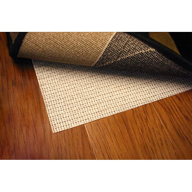 Sure Hold White PVC-coated Knit Polyester Rug Pad (9'6 x 13'4) - Thumbnail 0