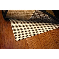 Comfort Hold White PVC-coated Knit Polyester Rug Pad (1'11 x 7'6)