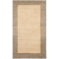 Safavieh Hand-knotted Gabeh Passage Beige Wool Rug (2' x 3')