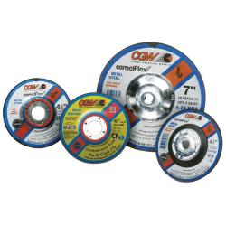 CGW Abrasives A24-R-Bf Steel Depressed Center Wheel
