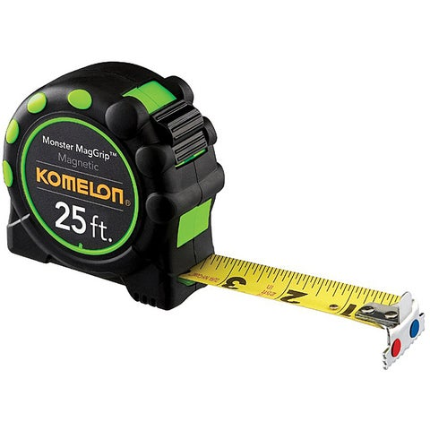 Komelon USA 'MagGrip Pro' 1 inches x 30 feet Measuring Tape