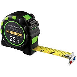 Komelon USA 'MagGrip Pro' 1 inches x 30 feet Measuring Tape