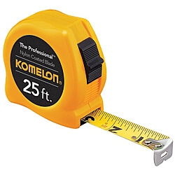 Komelon USA Professional Series 'Steelpower' 1 inch x 25 foot Measuring Tape