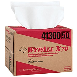 WypAll X70 1-Ply White Workhorse Rags