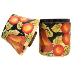 Casa Cortes Barcelona Collection Hand-Painted Candle Jar Holder