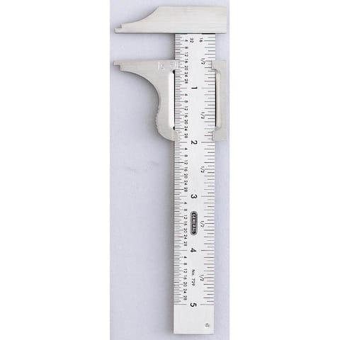 """Pocket Caliper 0-4""""Range Stainless 16Th 32N"""