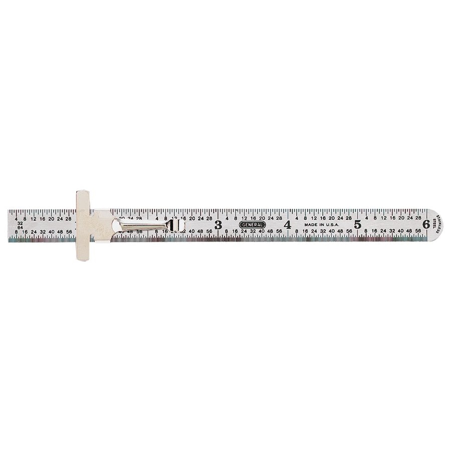 General Tools Economy Precision Stainless Steel Rule