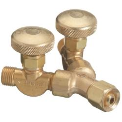 Western Enterprises 'Y' Connection with Valves
