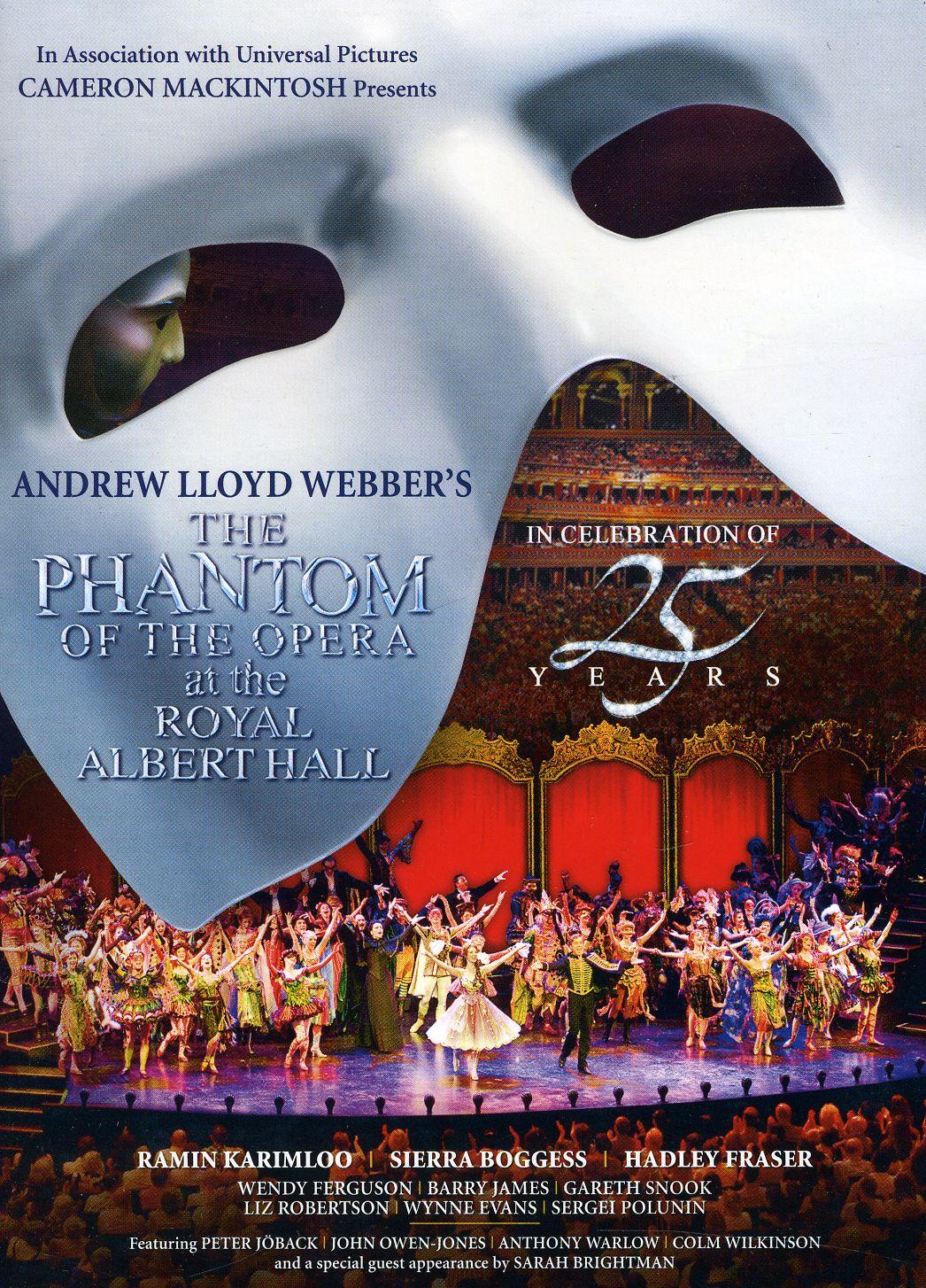 The Phantom Of The Opera At The Royal Albert Hall (DVD)