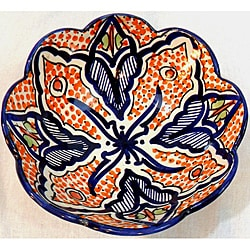 Handmade Cafe Nada Ceramic Bowl (Morocco)