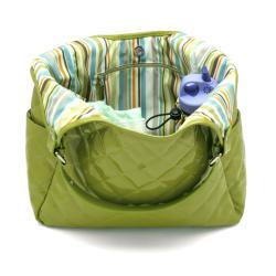 JP Lizzy Pistachio Tote Diaper Bag