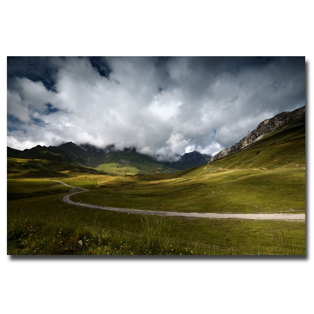 Philippe Sainte-Laudy 'Dark Green' Canvas Art