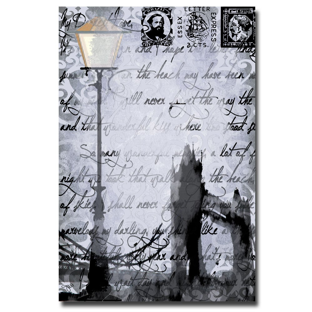 Working Girls Design 'Lamp Postpaper' Canavs Art