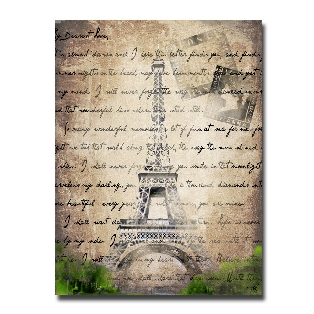 Working Girls Design 'Paris' Canvas Art