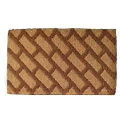 Diagonal Bricks Door Mat