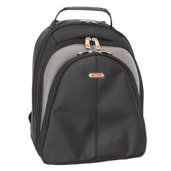 Azona Deluxe Black Ballistic Nylon 15.4-inch Laptop Backpack