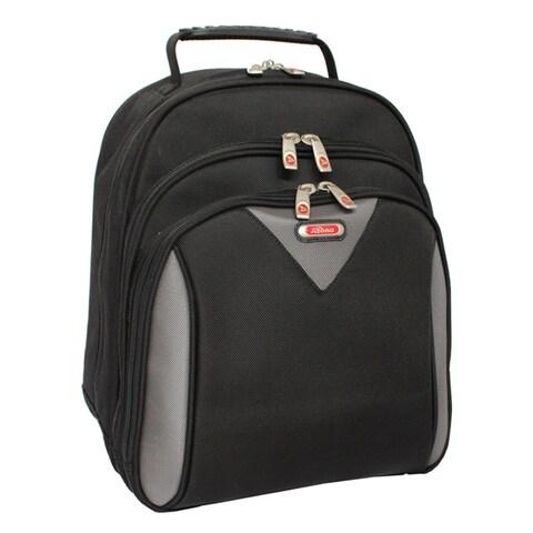 Azona Classic Black Ballistic Nylon 15-inch Laptop Backpack