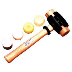 Garland Manufacturing Size-4 Split-Head Rawhide Hammer