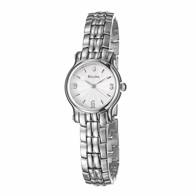Bulova Women's 'Bracelet' Stainless Steel Quartz Watch