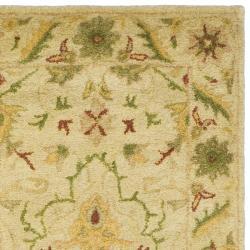 Safavieh Handmade Mahal Ivory Wool Runner (2'3 x 10') - Thumbnail 1