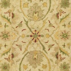 Safavieh Handmade Mahal Ivory Wool Runner (2'3 x 10') - Thumbnail 2