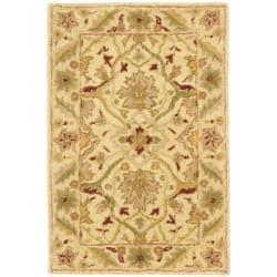 Safavieh Handmade Mahal Ivory Wool Rug (2' x 3')