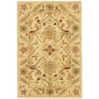 Safavieh Handmade Mahal Ivory Wool Rug - 2' x 3'
