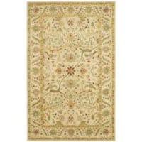 Safavieh Handmade Mahal Ivory Wool Rug (7'6 x 9'6)