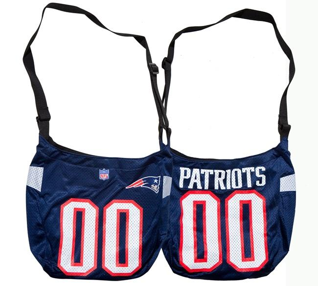Little Earth New England Patriots Veteran Jersey Tote Bag