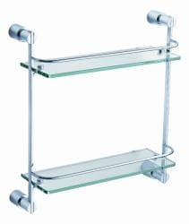 Fresca 'Magnifico' 2-tier Glass Shelf - Thumbnail 1