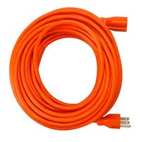 Coleman Cable Orange Extension Cord (50-Foot)