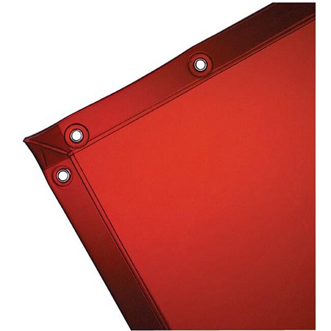 Wilson Industries Orange See-Through Welding Curtain
