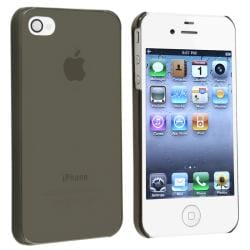 Clear Smoke Snap-on Slim-fit Case for Apple iPhone 4/ 4S - Thumbnail 1
