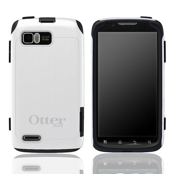 Otter Box Motorola Atrix 2 OEM White/ Black Commuter Case