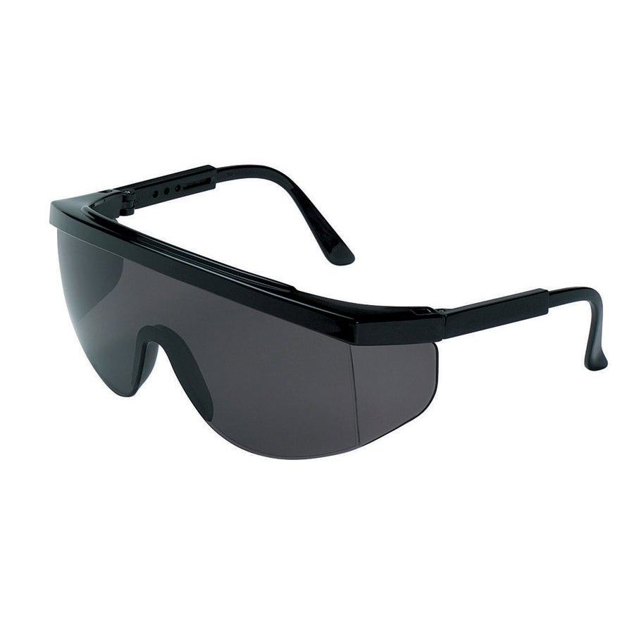 Crews Tomahawk Grey-Lens Safety Glasses