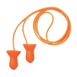Quiet Reusable Orange Foam Earplugs