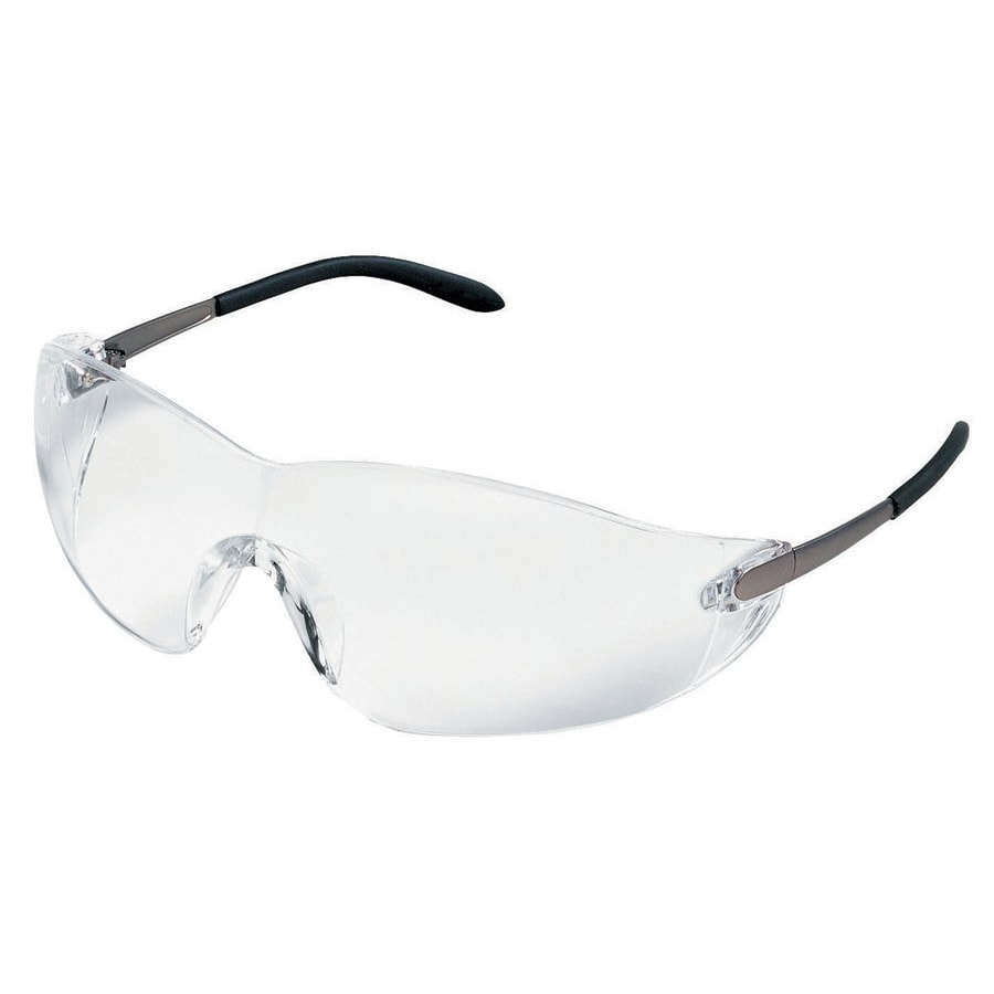 Crews Blackjack Clear-Lens Safety Glasses
