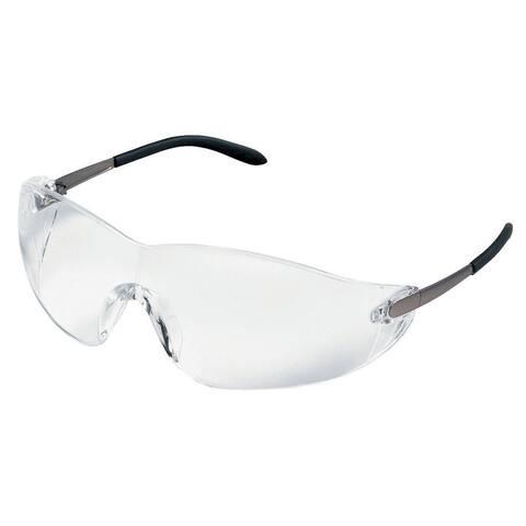 Crews Blackjack Clear-Lens Safety Glasses