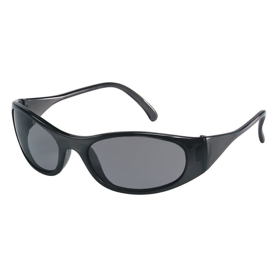 Crews Frostbite Grey-Lens Safety Glasses