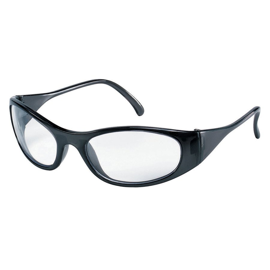 Crews Frostbite Clear-Lens Safety Glasses