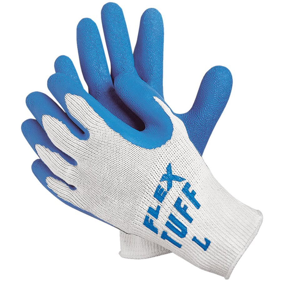 Memphis Glove Flex-Tuff Premium Latex Coated String Gloves (12 pairs)
