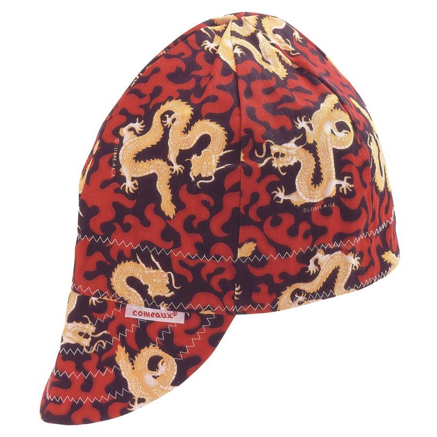 Comeaux Caps Red Dragon Round Crown Cap (6 3/4)