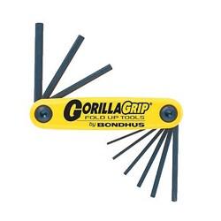 Bondhus 'Gorilla Grip' Inch Foldup 5-Tool Set