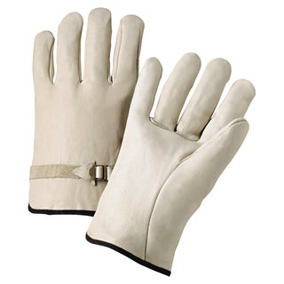 Anchor 6124L Leather Drivers Gloves Pull Strap