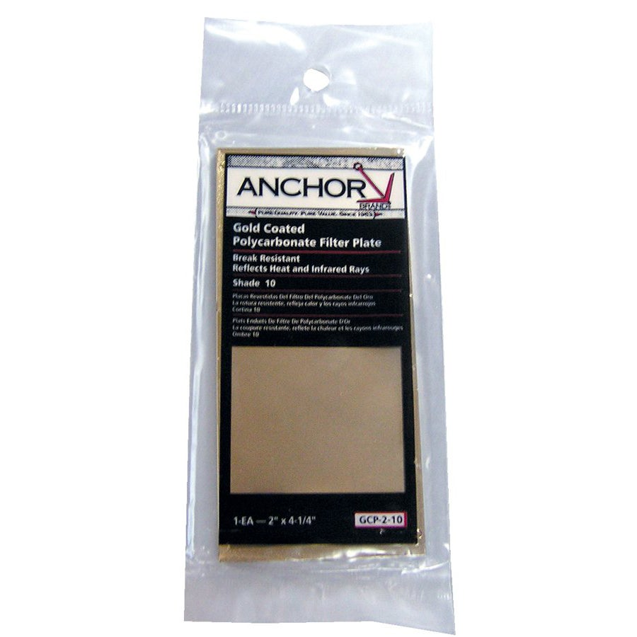 Anchor 4.5-inch x 5.25-inch Gold Coated Polycarbonate Filter Plates