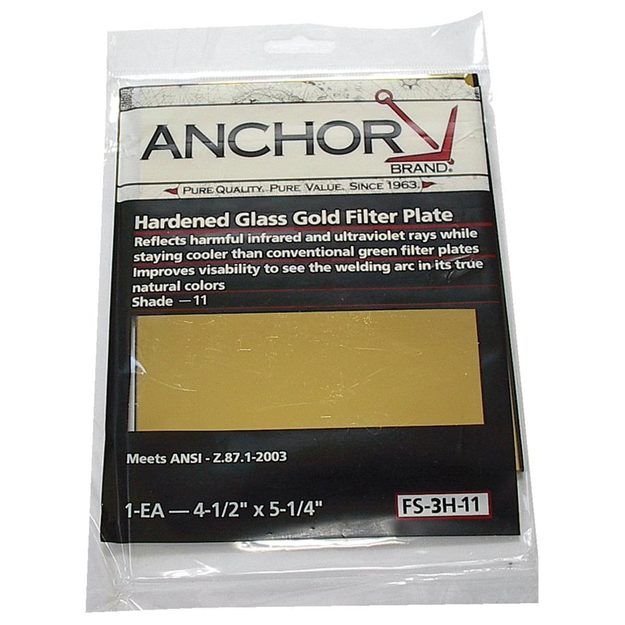 Anchor Hardened Glass Gold Filter Plate