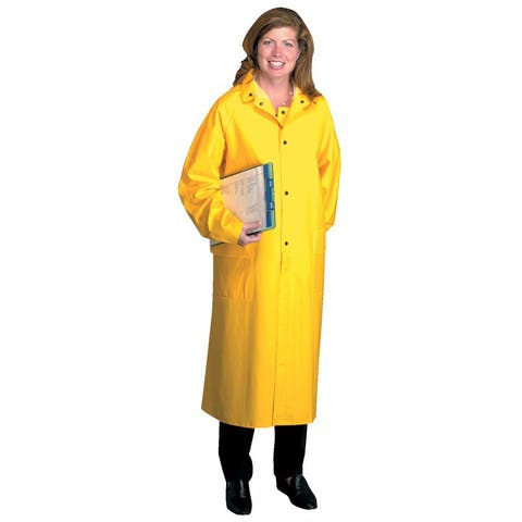 Anchor Raincoat, PVC/Polyester, Yellow, X-Large