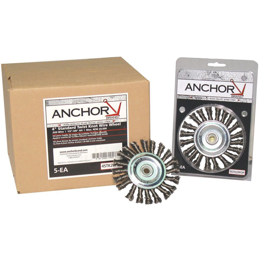 Anchor Brand 6-inch Stringer Bead Wheel Brush